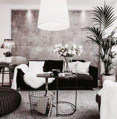 Cozy Small Living Room Decor Ideas On A Budget 05 living Small Living Rooms, New Living Room, Living Room Designs, Living Room Decor, Decor Room, Minimalist Living, Minimalist Style, Home Decor Trends, Decor Ideas