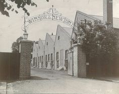 Winsor and Newton factory gates