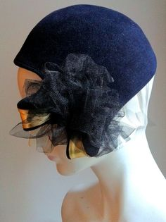 A Pretty Package Cocktail hat by annedepasquale on Etsy, $425.00