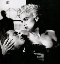 Madonna By Helmut Newton.