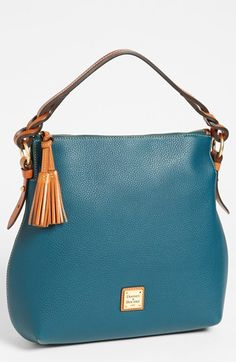 Dooney & Bourke Leather Hobo available at #Nordstrom