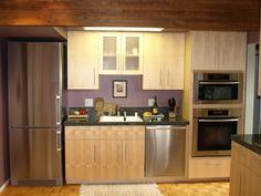 North County Kitchens, Petaluma, CA, Vertical Grain Maple Kitchen in Mill Valley, CA
