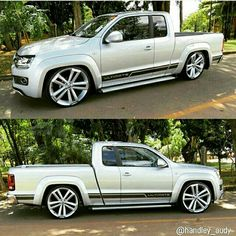 Amarok tuning (very styled after the old Ford Explorer pk up)
