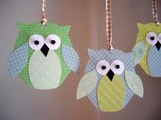 owls made with paper - Google Search