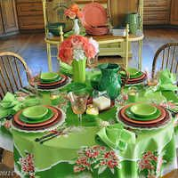 The Little Round Table Flamingo - & Little Round Table | Fiesta® / Homer Laughlin China: America\u0027s Diner ...