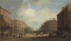 John Wilson Carmichael, 'Proposed new street for Newcastle', 1831. Purchased with the aid of a grant from the MLA/V&A Purchase Grant Fund, 2010  Richard Grainger's vision for Grey Street, Newcastle | Tyne & Wear Archives & Museums Blog
