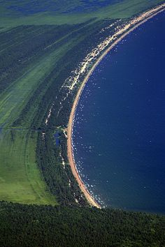 Barguzinsky Gulf Coastline, Lake Baikal, Siberia**