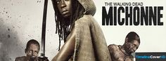 The Walking Dead Michonne Timeline Cover 850x315 Facebook Covers - Timeline Cover HD