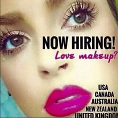 If you love makeup and people the Younique Opportunity is for you!!!  100% ONLINE, NO inventory, NO fees and paid w/in 4 hours of a sale! WOWZA get more information at www.fabulashchic.com or comment below  MEXICO and GERMANY will be in the market as well in 2015 - US Spanish speaking women you can join now and be 1 of the first 999 RACE TO START!