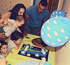 Baby Birthday, Rainbow, Stars, Rain Bow, Toddler Boy Birthday, Rainbows