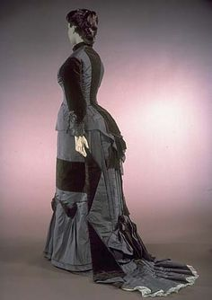 Dress, 1879-84, Smithsonian Museum of American History