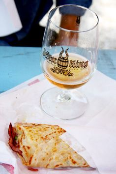 Booze a la Cart: Flip Happy Crepes and Jester King Craft Brewery. Click through for video and details.