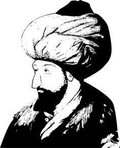 Vektörel Çizim | Fatih Sultan Mehmed Silüeti