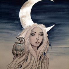 Moon princess by watercolor painting with metallic colors finetec pearlcolors Moon Princess, Disney Princess, Metallic Colors, Watercolor Paintings, Disney Characters, Fictional Characters, Aurora Sleeping Beauty, Drawings, Design