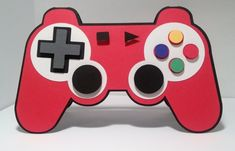 Game controller Playstation, Ps4, Video Game, Fun Crafts, Surprise Sinterklaas, Surprise Baby, Birthday Cards, Santa Gifts, Fathers Day Crafts