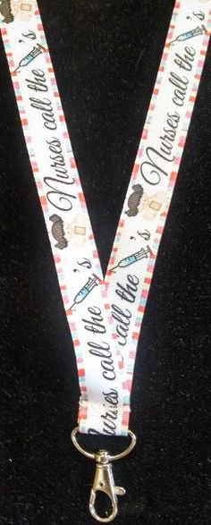 Great lanyard for a nurse 40 inches in length with all metal lobster clasp and safety breakaway.