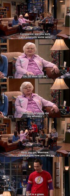 Love Sheldon from The Big Bang Theory!
