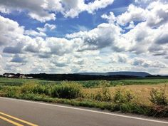 Take me home, country roads #PA #farms #bigsky