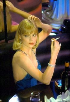 """Michelle Pfeiffer in Scarface"" Smoking Ladies, Girl Smoking, Summer Photography, Photography Women, Elvira Scarface, Michelle Pfeiffer Scarface, Elvira Hancock, Scarface Quotes, Lil Peep Beamerboy"