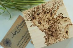 Pyrography Personalised Wooden Box solid by AgniPrasadaBurning