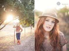 Love the light on the left and the hat on the right :)