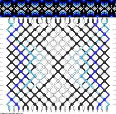 Muster # 43950, Streicher: 22 Zeilen: 18 Farben: 7