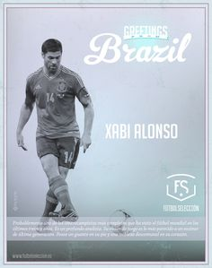 Greetings from Brazil: Xabi Alonso