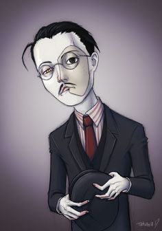 Illustration of Richard Harrow from Boardwalk Empire television series, by nastynoser