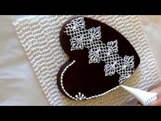 Lace cookie.Part6. Cookie Con 2015. My little bakery. - YouTube