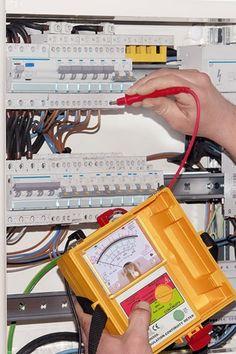 """Électricien Street Signe Electric apprenti Patch Panel Disjoncteur 18/"""""""
