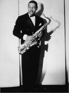 Coleman Hawkins - Legendary American jazz saxophonist. Hawkins was one of the first prominent jazz musicians on the tenor saxophone.