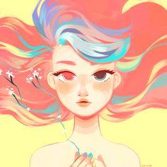 artwork for mangokitty's newest song! ^0^LISTEN HERE