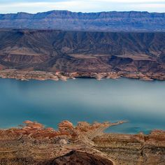 Beat the bustle of the Las Vegas strip for the tranquil Lake Mead…   10 Road Trips You Need To Take This Summer