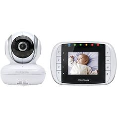 Motorola MBP33S Wireless Video Baby Monitor with 2.8-Inch Color LCD, Zoom and Enhanced Two-Way Audio Motorola
