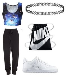 """""""Untitled #15"""" by cuchiplasti on Polyvore featuring beauty, Donna Karan and NIKE"""