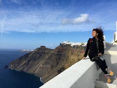 Santorini, the dream destination come true Santorini, Travel Destinations, Nature, Destinations, Naturaleza, Scenery