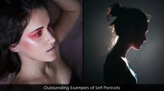 Outstanding Examples of Self Portraits by 20-Year-Old Melania Brescia