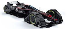 マクラーレンが超未来型F1カーのコンセプトを発表 : ギズモード・ジャパン