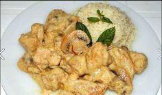 Καταγραφή Greek Recipes, Shrimp, Meat, Chicken, Food, Meals, Yemek, Buffalo Chicken, Eten