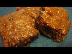 #Glutenfree Zucchini Brownies! Perfect for #diabetic indulgences