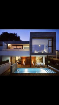 Best Modern House Design Modern Architecture Ideas for Your Perfect Home Best Modern House Design. If you are building your house, odds are that you would want to combine great design with function… Architecture Design, Residential Architecture, Contemporary Architecture, Contemporary Homes, Amazing Architecture, Creative Architecture, Container Architecture, London Architecture, Architecture Interiors