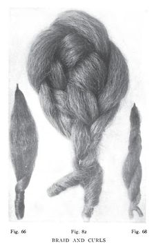hair switches (actually Edwardian but the principle is the same).