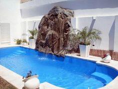 1000 images about cascadas modernas on pinterest for Piscinas pequenas con cascadas
