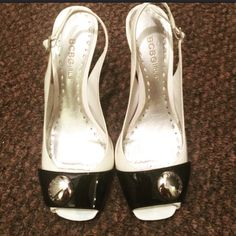 """BCBGirls Shoes Size: 6.5; gently worn; about 3"""" height. BCBGirls Shoes Heels"""