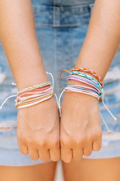 Our string bracelets are made with the finest string and are handcrafted by our artisans around the world. Christian Bracelets, Christian Jewelry, Christian Clothing, String Bracelets, Brand Ambassador, Jewelry Companies, Cool Artwork, Bracelet Set, Vsco