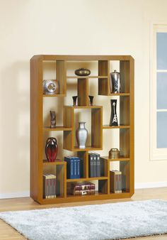 ID USA Furniture Distributor #13630 is a Bookcase, Display Cabinet, and a Room Divider. What else? This cabinet can also be lain on its side, perfect for longer spaces or hanging pictures frames above. #IDUSA #IDUSAfurniture