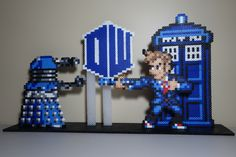Dr. Who Perler Bead stand up - age 13
