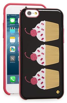 kate spade new york 'cupcakes' iPhone 6 & 6s case available at #Nordstrom