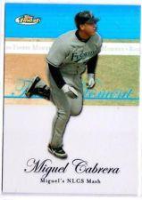 2007 TOPPS BLUE REFRACTOR FINEST MOMENT MIGUEL CABRERA CARD #RFM-MC #'ED 192/299 in Sports Mem, Cards & Fan Shop, Cards, Baseball   eBay