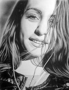 Custom Portrait Drawing Portrait Pencil Portrait by PicassoStyle